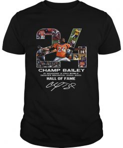 24 Champ Bailey Broncos Hall Of Fame  Unisex