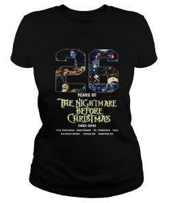 26 Years of The Nightmare Before Christmas 1983 2019  Classic Ladies