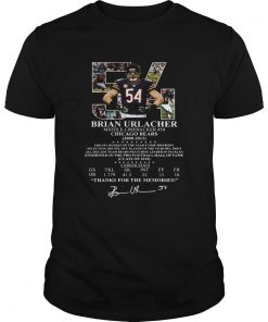 54 Brian Urlacher middle linebacker Chicago Bears  Unisex