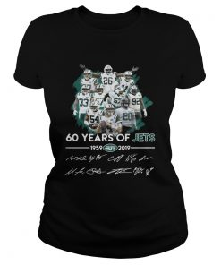 60 years of Jets 19592019 signature  Classic Ladies