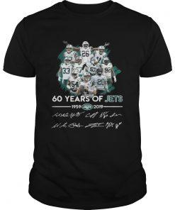 60 years of Jets 19592019 signature  Unisex