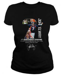 7 John Elway Quarterback Stanford years with Broncos  Classic Ladies