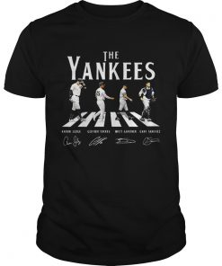 Abbey Road The Yankees signature  Unisex