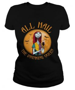 All hall the drinking Queen Nightmare Before Christmas wine  Classic Ladies