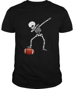 Awesome Football Skeleton Dabbing Sports Halloween Gift  Unisex
