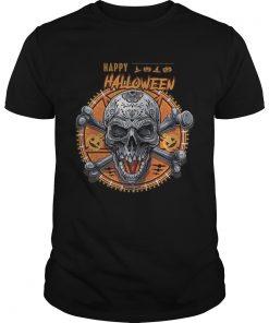 Beautiful Happy Halloween Skull  Unisex