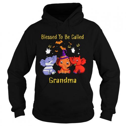 Blessed To Be Called Grandma Elephant TShirt Hoodie