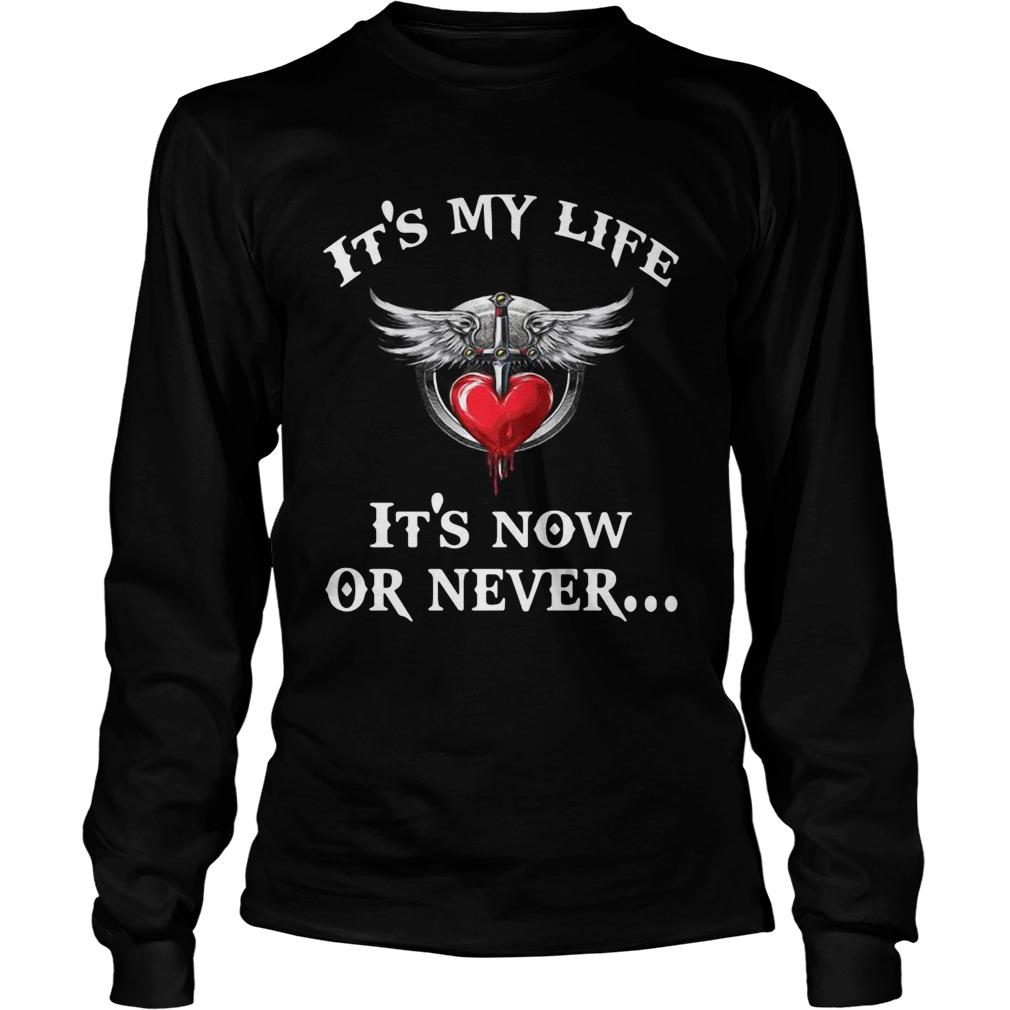 Bon Jovi its my life its now or never LongSleeve
