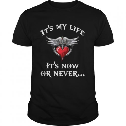 Bon Jovi its my life its now or never  Unisex
