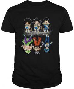 Broly Goku and Vegeta reflection The Lion King  Unisex