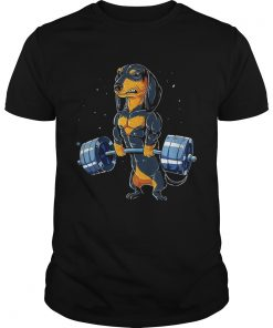 Dachshund weightlifting  Unisex