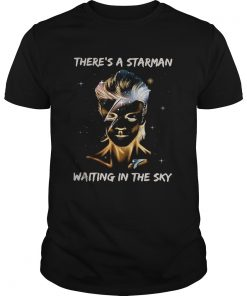 David Bowie theres a Starman waiting in the sky  Unisex