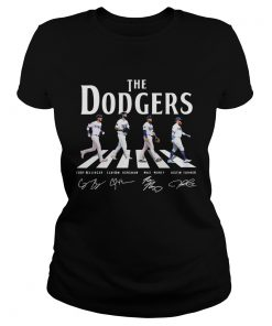 Dodgers The Dodgers Abbey road signature  Classic Ladies