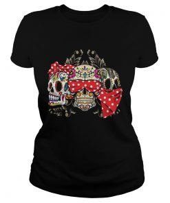 Dont miss this deal on three skull floral  Classic Ladies