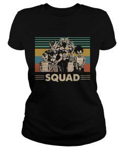 Dragon Ball Z Gangsta squad vintage  Classic Ladies