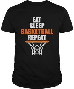 Eat sleep basketball repeat  Unisex