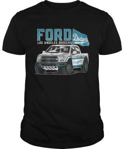 Ford Los Angeles Doogers Flag Baseball Team Fans Mustang Car Lovers Shirts Unisex