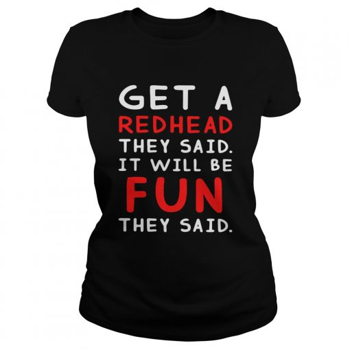 Get a redhead they said itll be fun they said  Classic Ladies