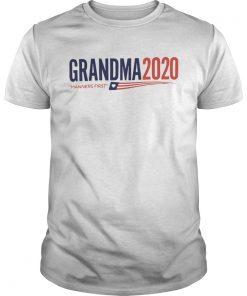 Grandma 2020 Manners first  Unisex