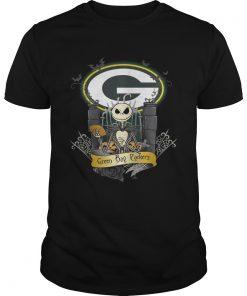 Green Bay Packers Jack Skellington this is Halloween  Unisex