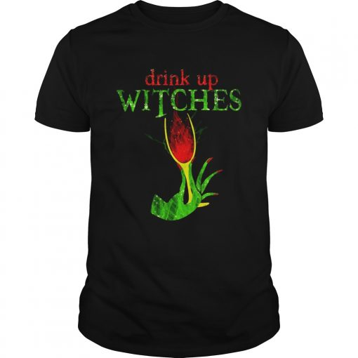 Grinch drink up witches  Unisex