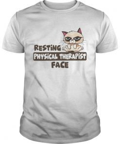 Grumpy cat resting physical therapist face  Unisex