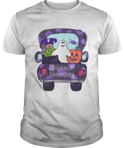 Halloween Womens Mom Blessed Grandma TShirt Unisex