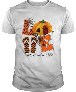 Halloween Womens Mom Love Grandma Life TShirt Unisex