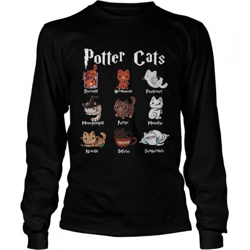 Harry Potter cats  LongSleeve