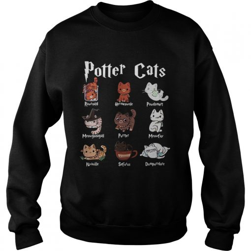Harry Potter cats  Sweatshirt
