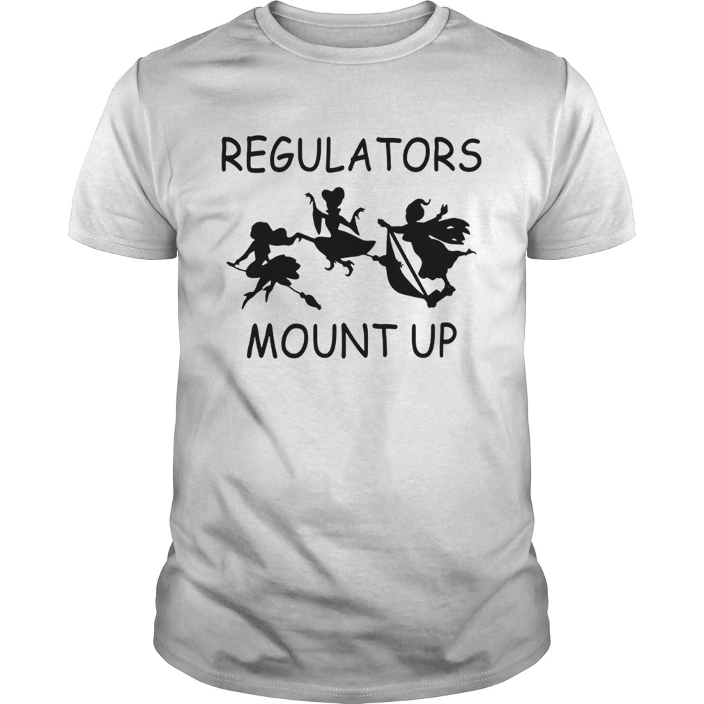 Hocus Pocus Regulators Mount Up Shirt Kingteeshop When you press the big green button, you will be able to choose your size(s). kingteeshop