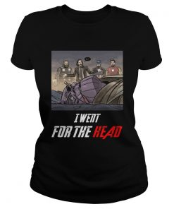 I Went For The Head Funny John Wick T Classic Ladies