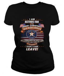I am Astros fan I say Merry Christmas God bless America  Classic Ladies