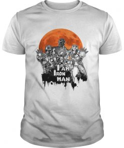 I am Iron Man Zombie Halloween  Unisex