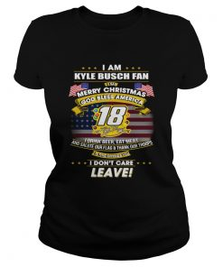 I am Kyle Busch fan I say Merry Christmas God bless America  Classic Ladies