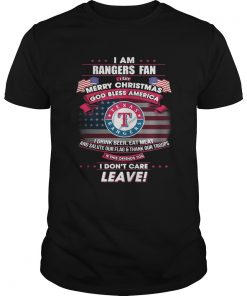 I am Rangers fan I say Merry Christmas god bless America  Unisex