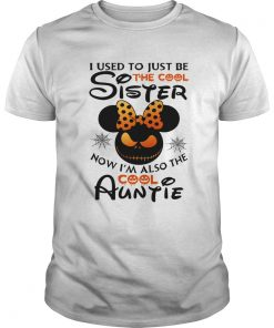 I use to just be the cool sister now Im also the cool Auntie Minnie Halloween  Unisex