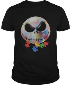 Jack Skellington Autism Awareness Unisex
