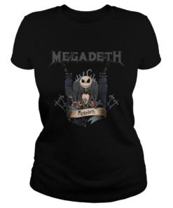 Jack Skellington Megadeth Halloween  Classic Ladies