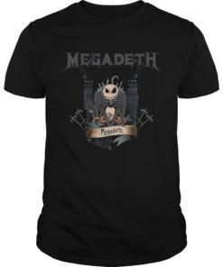 Jack Skellington Megadeth Halloween  Unisex