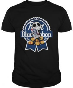 Jack Skellington hug Pabst Blue Ribbon pumpkin  Unisex