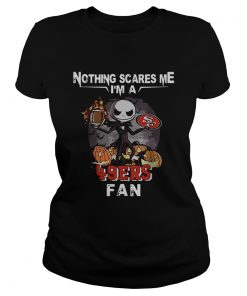 Jack Skellington nothing scares me Im a San Francisco 49ers fan  Classic Ladies