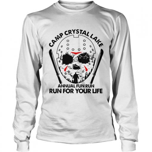 Jason Voorhees Camp crystal lake annual fun run run for your life  LongSleeve