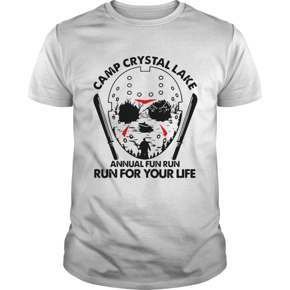 Jason Voorhees Camp crystal lake annual fun run run for your life Unisex