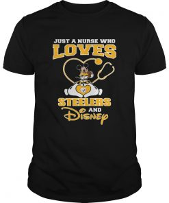 Just a nurse who loves Pittsburgh Steelers and Disney  Unisex