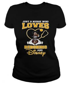Just a nurse who loves Washington Redskins and Disney  Classic Ladies