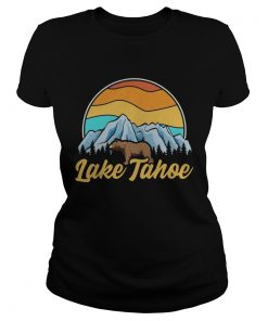 Lake Tahoe Sierra Nevada Vintage  Classic Ladies
