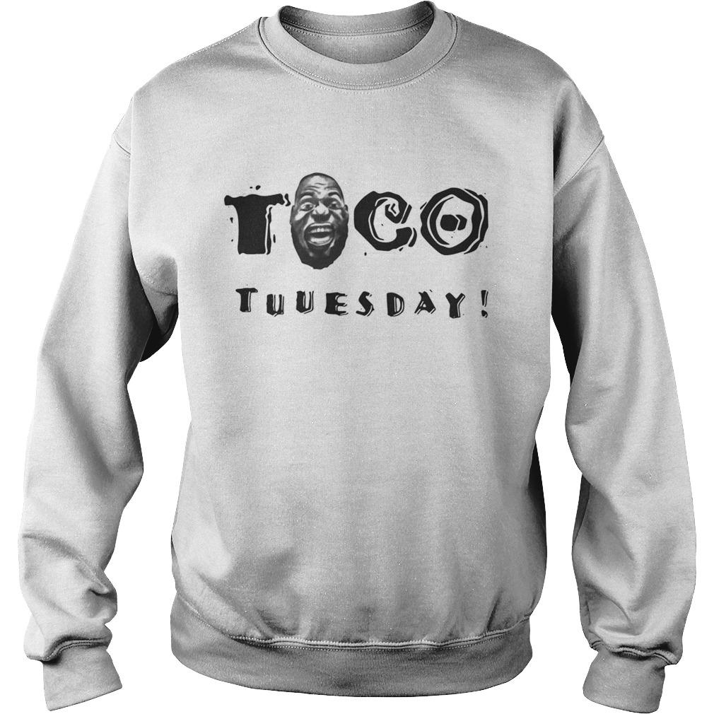 quality design 8c79b 524a1 LeBron James Taco Tuesday shirt
