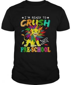 Lion Im ready to crush preschool  Unisex