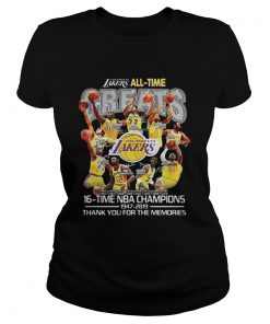 Los Angeles Lakers all time 16 time NBA champions  Classic Ladies